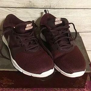 Nike dark Brown tennis shoes